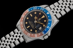 Rolex GMT ref 1675 retailed by Serpico y Laino