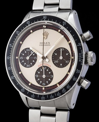 rolex paul newman with brown registers ref 6241