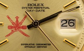 Rolex Day-Date Red ref. 1807 with Omani Swords