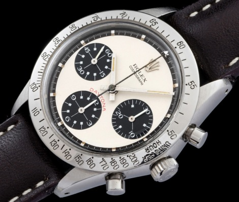 """Rolex """"The 6262 Paul Newman with deep brown track"""""""