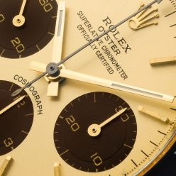 """Rolex """"The gold Daytona 6263 with chocolate shade registers"""" detail 1"""
