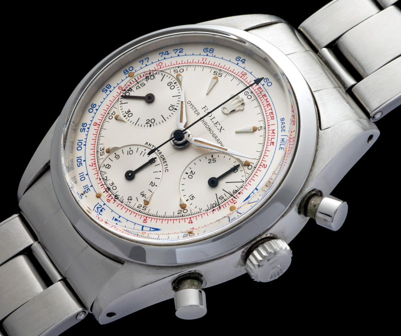 "Rolex ""The steel Pre-Daytona Blue & Red Scales"""