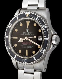 "Rolex ""The Patent Pending chocolate Brown Sea-Dweller"""