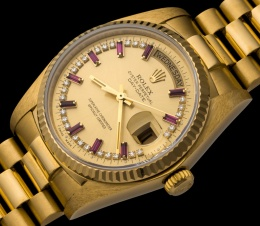 Rolex The Ruby President ref. 18038