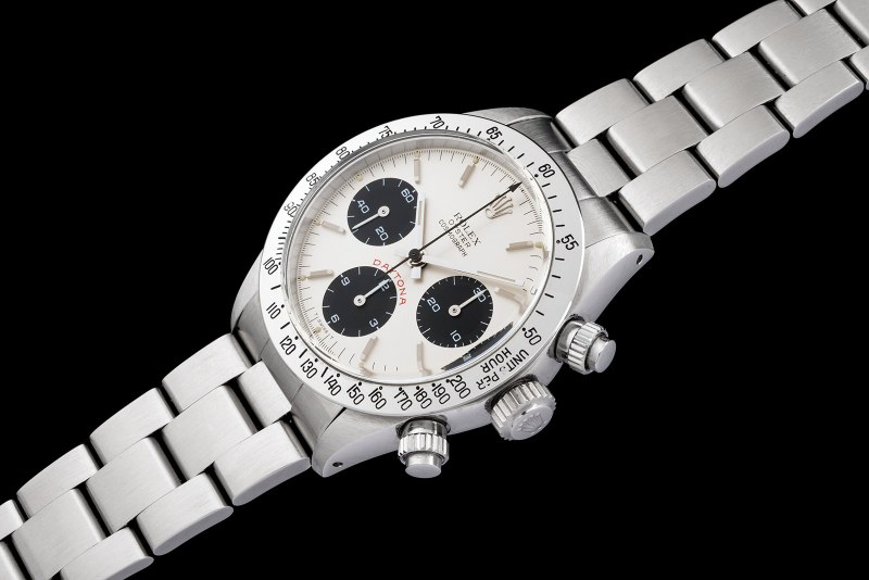 Rolex The steel Daytona 6265 0