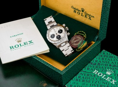 Rolex The steel Daytona 6265 11