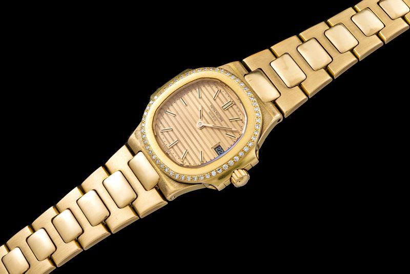 "Patek Philippe ""The Diamonds Lady gold Nautilus"" 0"