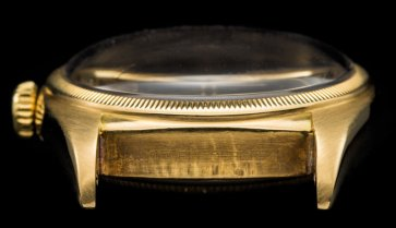 "Rolex ""The Yellow gold Ovettone ref. 6105"""