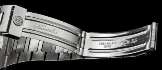 Patek Philippe The Steel Nautilus ref 3700 retailed by Gubelin