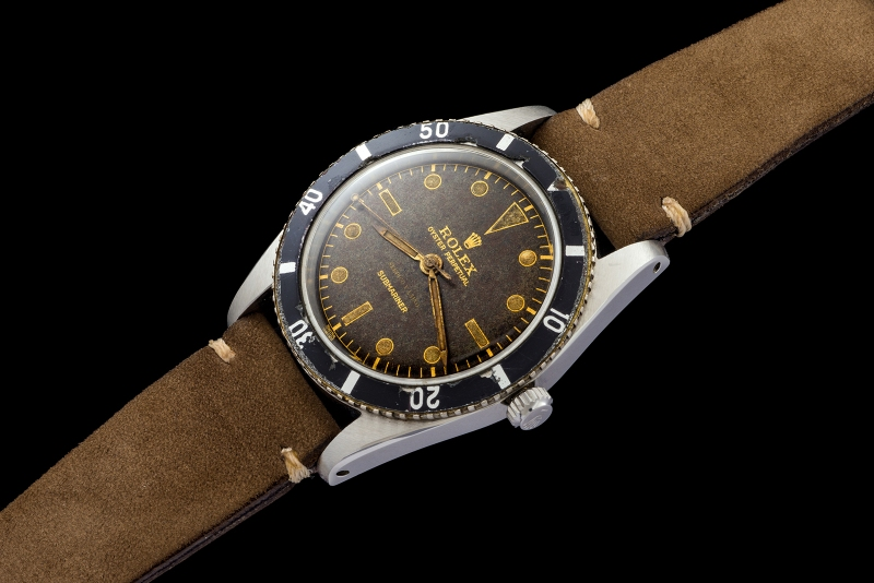 Rolex The Submariner 6204 retailed by Serpico y Laino 0