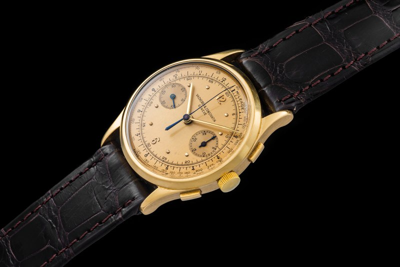 Vacheron & Constantin The monochrome yellow Chronograph ref 4072 0