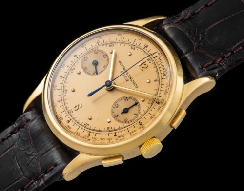 Vacheron & Constantin The monochrome yellow Chronograph ref 4072 1