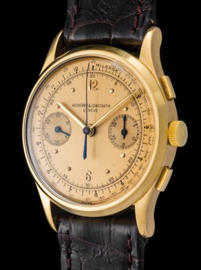 Vacheron & Constantin The monochrome yellow Chronograph ref 4072 2