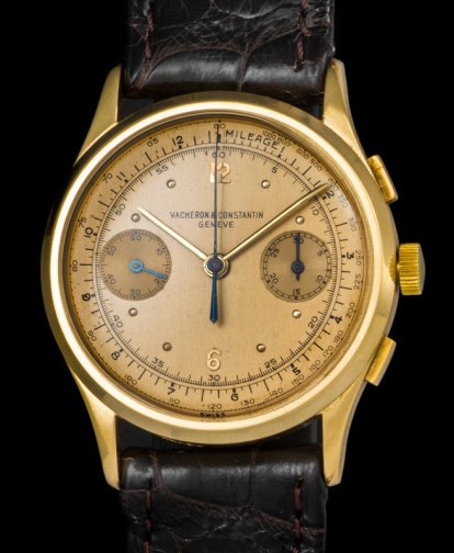 Vacheron & Constantin The monochrome yellow Chronograph ref 4072 3