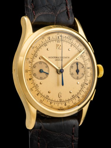 Vacheron & Constantin The monochrome yellow Chronograph ref 4072 4