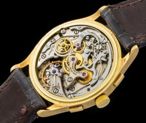 Vacheron & Constantin The monochrome yellow Chronograph ref 4072 6