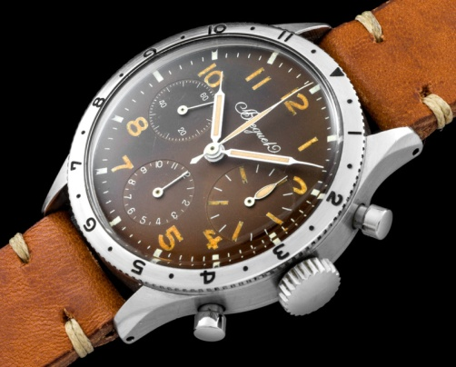 "Breguet ""The steel chronograph Aviator Type XX"" 1"