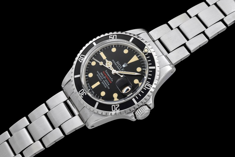 "Rolex ""The 1680 red Submariner retailed by Tiffany"" 0"