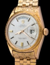 Rolex The rose gold first series Day Date ref 1803 2