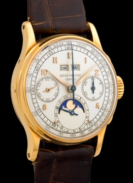"Patek Philippe ""The yellow gold ref.1518"" 5"