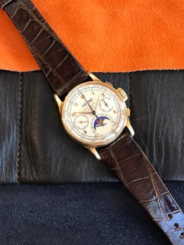 "Patek Philippe ""The yellow gold ref.1518"" nat 1"