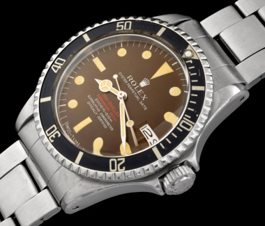 "Rolex ""The caramel brown Double Red Seadweller ref 1665"" 1"