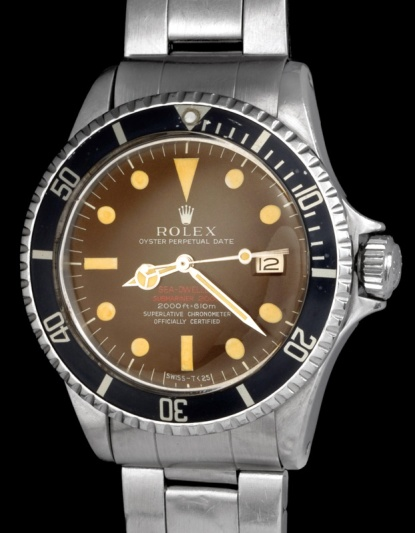 "Rolex ""The caramel brown Double Red Seadweller ref 1665"" 3"