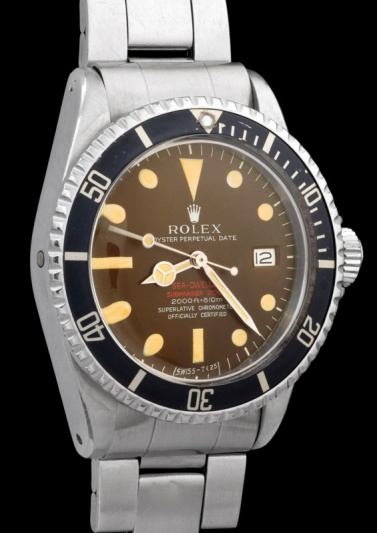 """Rolex """"The caramel brown Double Red Seadweller ref 1665"""" 4"""