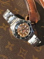 "Rolex ""The caramel brown Double Red Seadweller ref 1665"" nat 1"