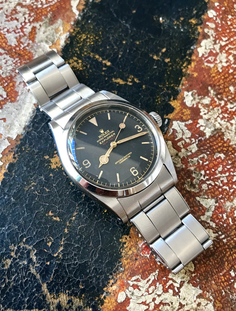 Rolex The full set Red Depth Explorer ref. 6610 nat 2