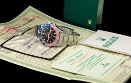 "Rolex ""The Full set deep brown GMT ref. 1675"" 13"