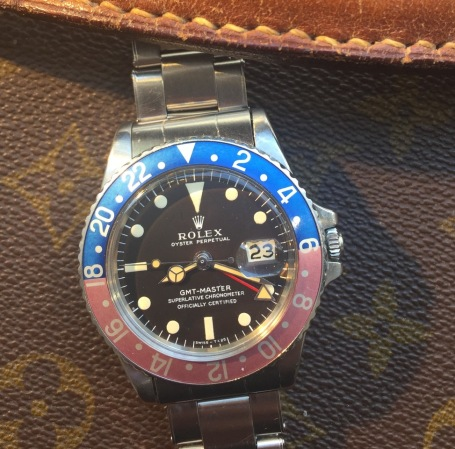 "Rolex ""The Full set deep brown GMT ref. 1675"" nat 2"