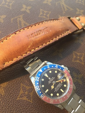 "Rolex ""The Full set deep brown GMT ref. 1675"" nat 3"