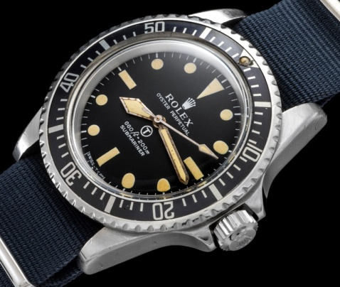 "Rolex ""The British Military Submariner ref. 5513"" 1"