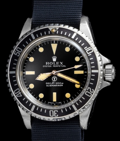 "Rolex ""The British Military Submariner ref. 5513"" 3"
