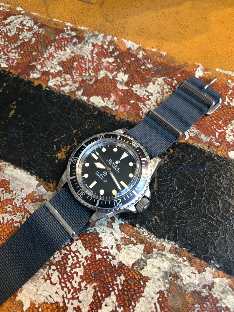 "Rolex ""The British Military Submariner ref. 5513"" nat 1"