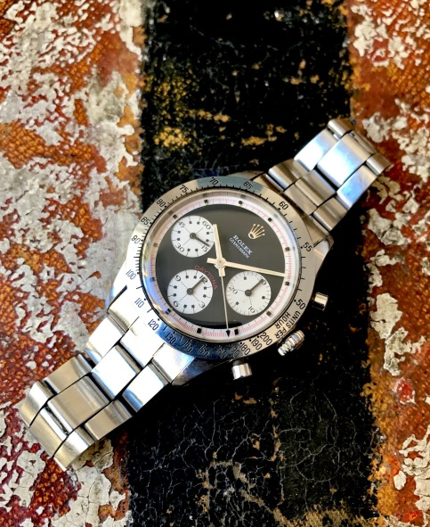 "Rolex ""The Full set black Paul Newman Daytona ref. 6262"" nat 1"