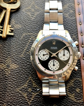 "Rolex ""The Full set black Paul Newman Daytona ref. 6262"" nat 2"