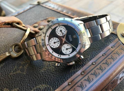 "Rolex ""The Full set black Paul Newman Daytona ref. 6262"" nat 3"