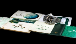 "Rolex ""The full set Double Red Seadweller ref. 1665"" 13"