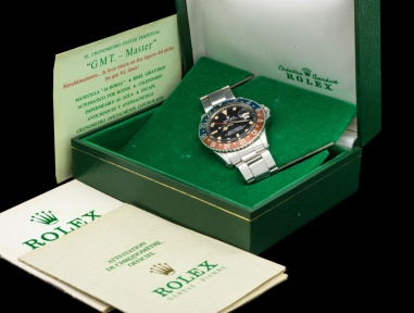 "Rolex ""The Full Set GMT Master ref. 1675"" 13"