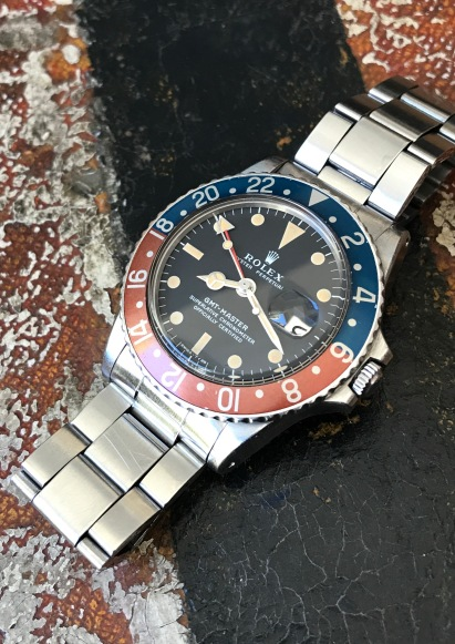 "Rolex ""The Full Set GMT Master ref. 1675"" nat 1"