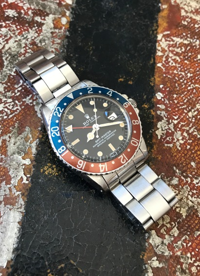 "Rolex ""The Full Set GMT Master ref. 1675"" nat 2"