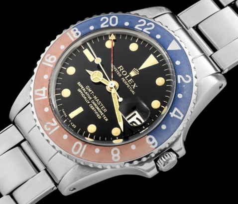 "Rolex ""The Gilt GMT ref 1675"" 1"