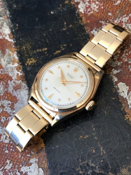 "Rolex ""The gold Stelline ref. 6024"" nat 1"