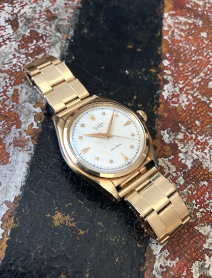 "Rolex ""The gold Stelline ref. 6024"" nat 2"