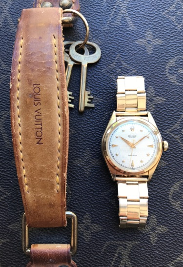 "Rolex ""The gold Stelline ref. 6024"" nat 3"