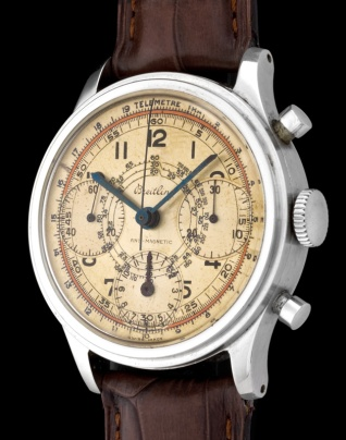 "Breitling ""The steel Anti-magnetic Chronograph"" 2"
