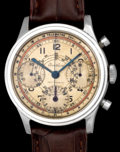 "Breitling ""The steel Anti-magnetic Chronograph"" 3"