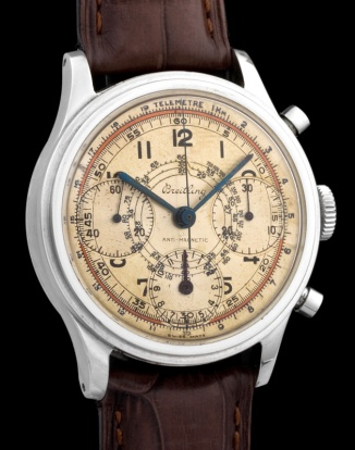 "Breitling ""The steel Anti-magnetic Chronograph"" 4"